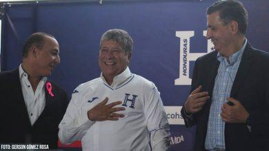 Hernán Bolillo Gómez presentación Honduras